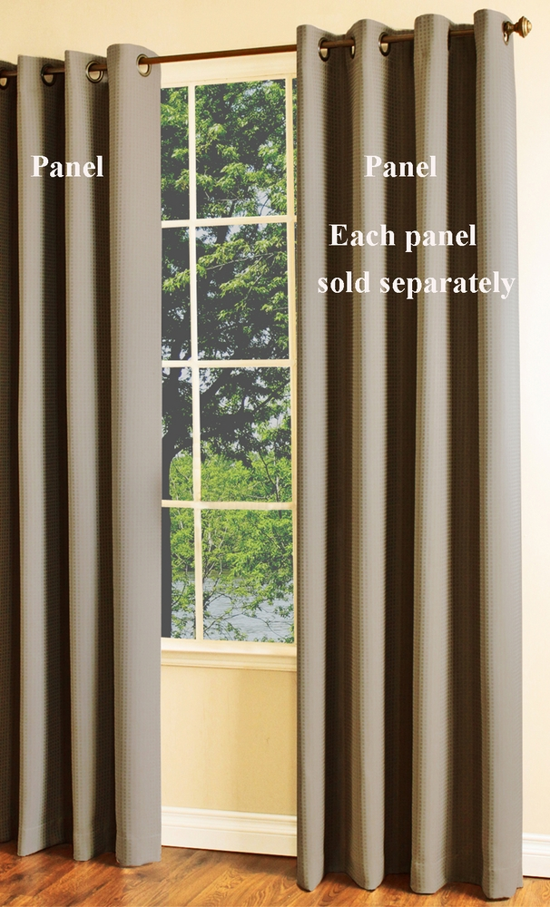 Darcy Insulated Black Out Grommet Curtain Panel Thermaplus