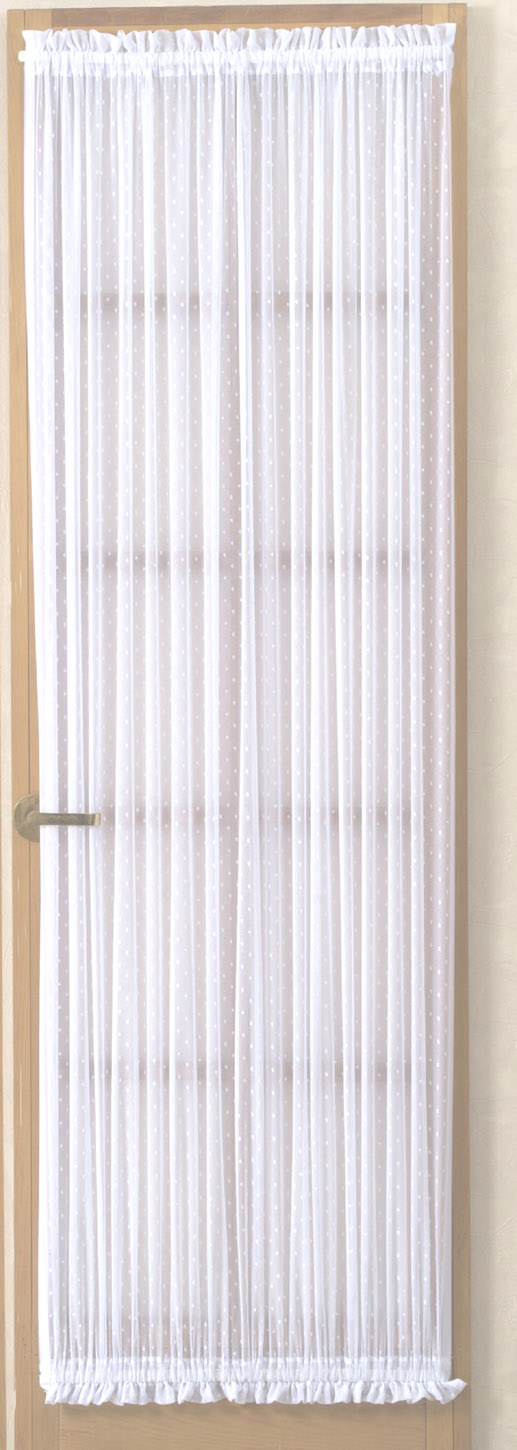 Door Panel Curtains : Etoile jacquard rachel lace window panels