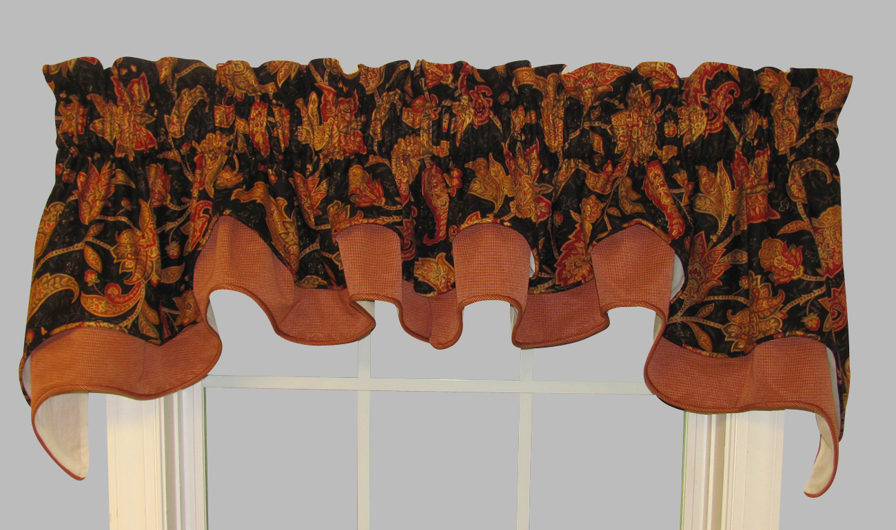 Curtain valances for windows and rods - Curtain Valances For Windows And Rods 32