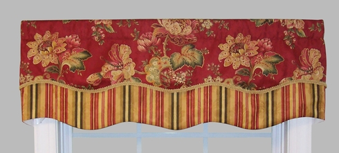Luxuriance Double Scallop Valance - Closing Out
