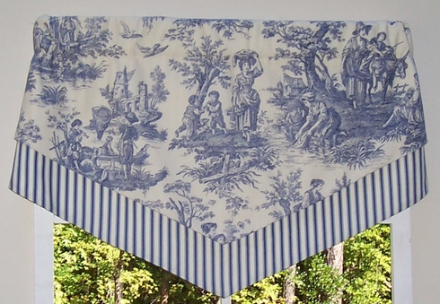 Double Scarf Valance - Country Life by Waverly -SOLD OUT