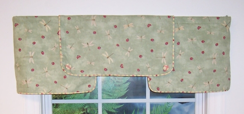 Dragonfly Ace Valance  SOLD OUT