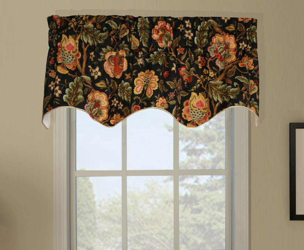 Duchess imperial dress insert window valance floral - Boutique free valence ...
