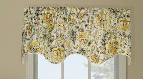 Duchess Insert Valance - Regency Grey