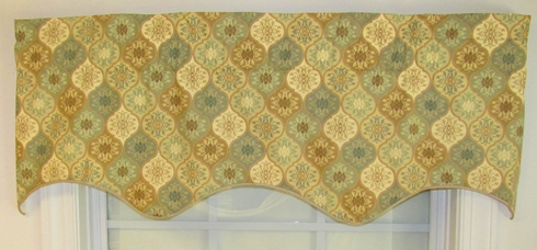 Duchess Insert Valance - Omaha SAGE - SOLD OUT