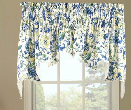 Imperial Dress Duchess Valance - Blue - Closing Out
