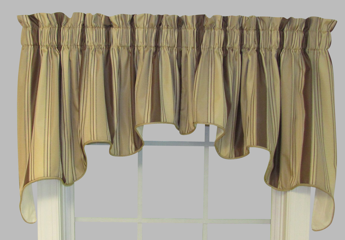Swag curtains solid patterned sheer - Boutique free valence ...