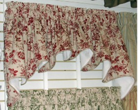 Palmer Toile - Duchess Valance - CLOSING OUT