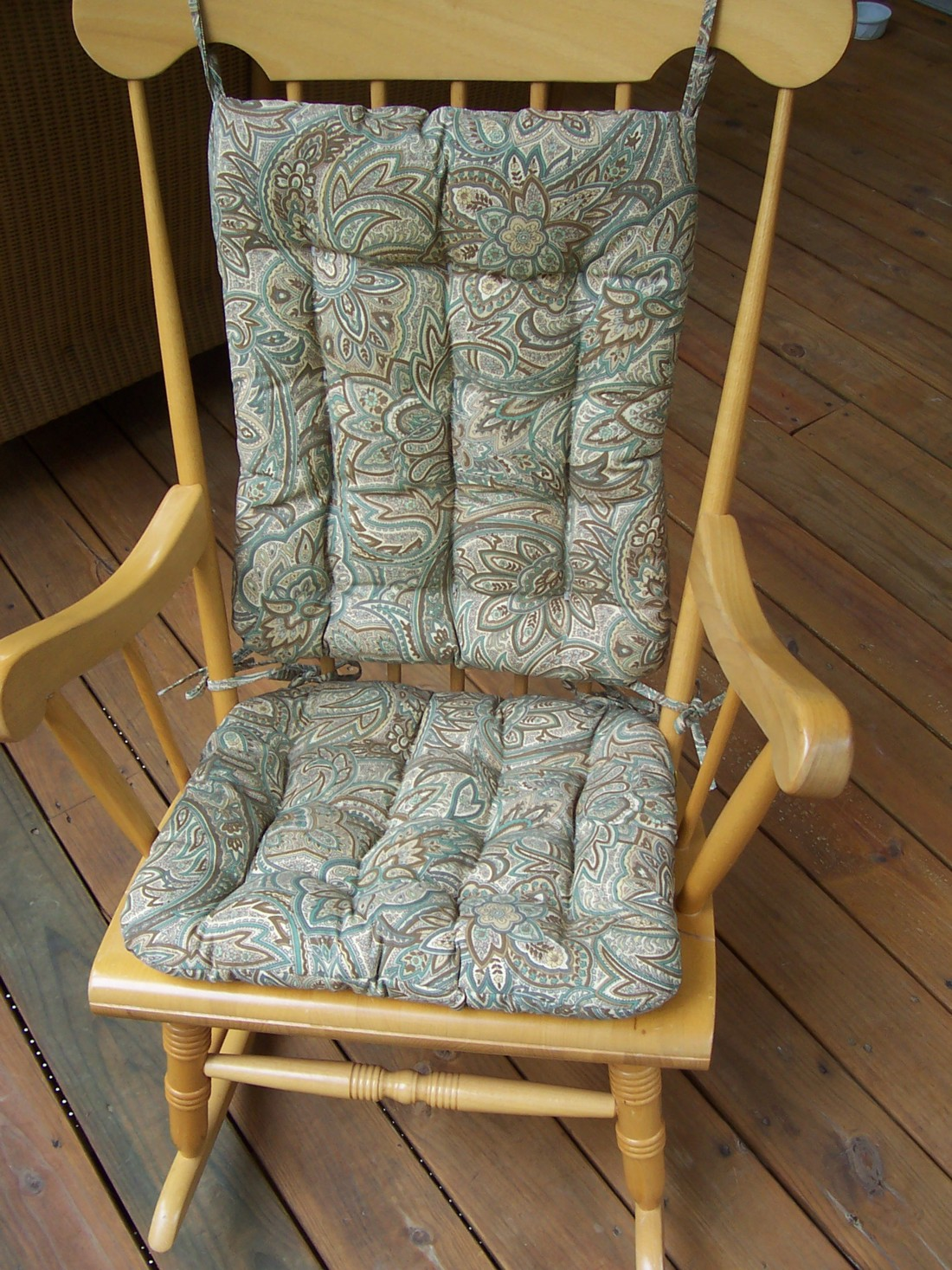 Strange Rocking Chair Cushion Sets And More Clearance Machost Co Dining Chair Design Ideas Machostcouk