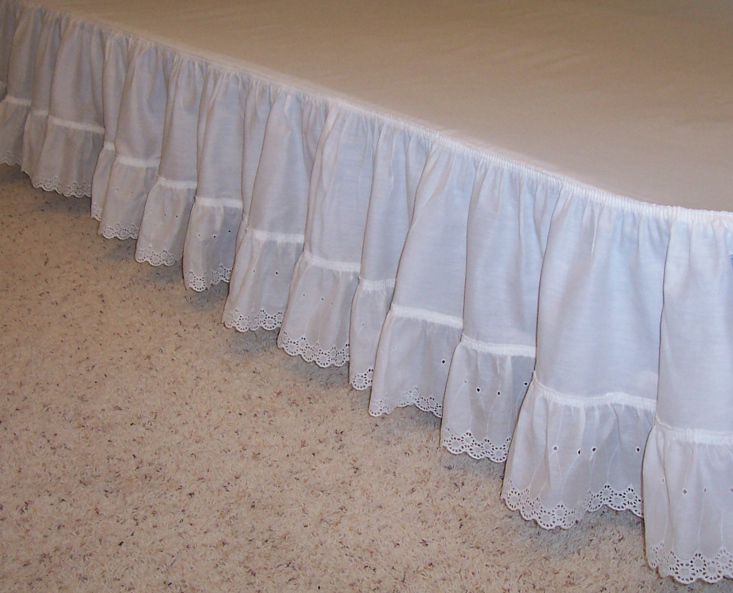 a few days away cheap for discount arriving Bed skirts Daybed Gathered Balloon Detachable Ruffled