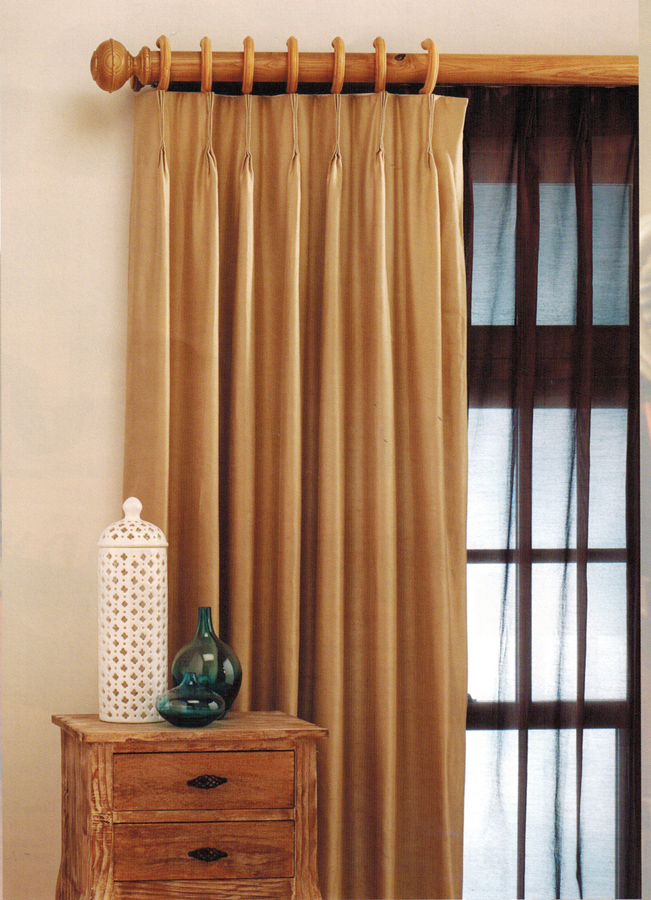 Curtains Single Panel Pink