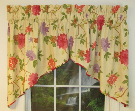 Rhapsody Festoon Valance -  Croscill - CLEARANCE