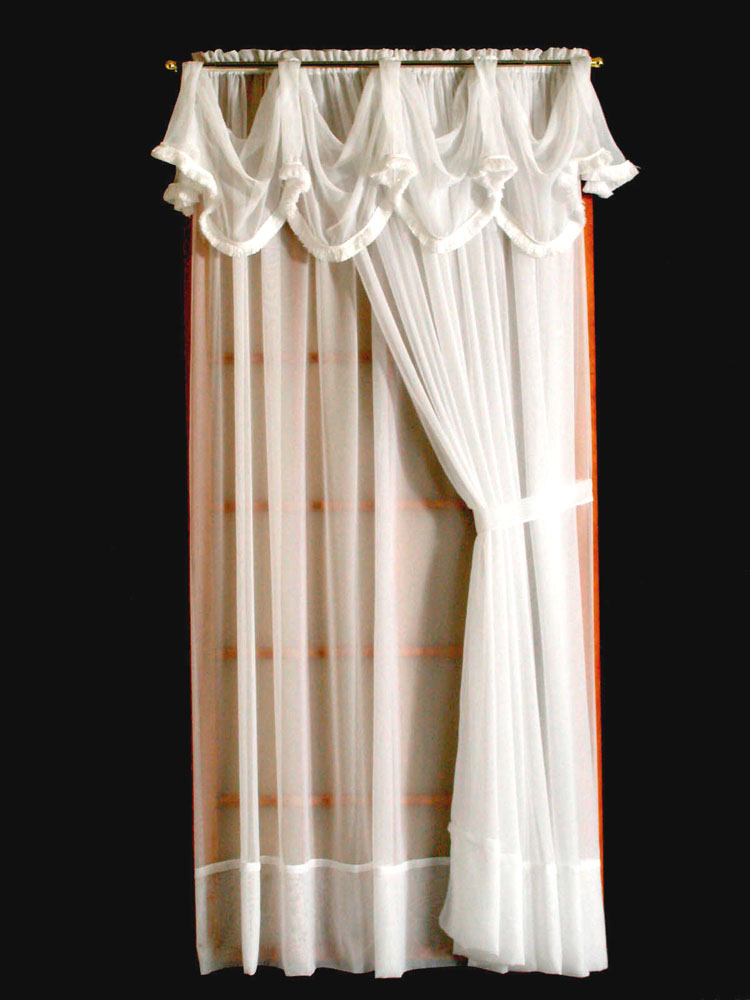 Door Panel Curtains : Sheer window curtains ï ½thecurtainshop