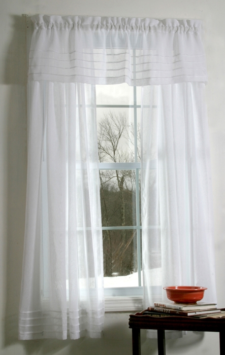 Sheer window curtains - Boutique free valence ...