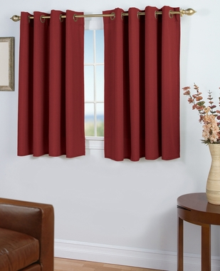 Glasgow Grommet Curtain with  Wand