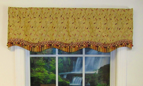 Glory Valance - Odienne Wisteria - SOLD OUT