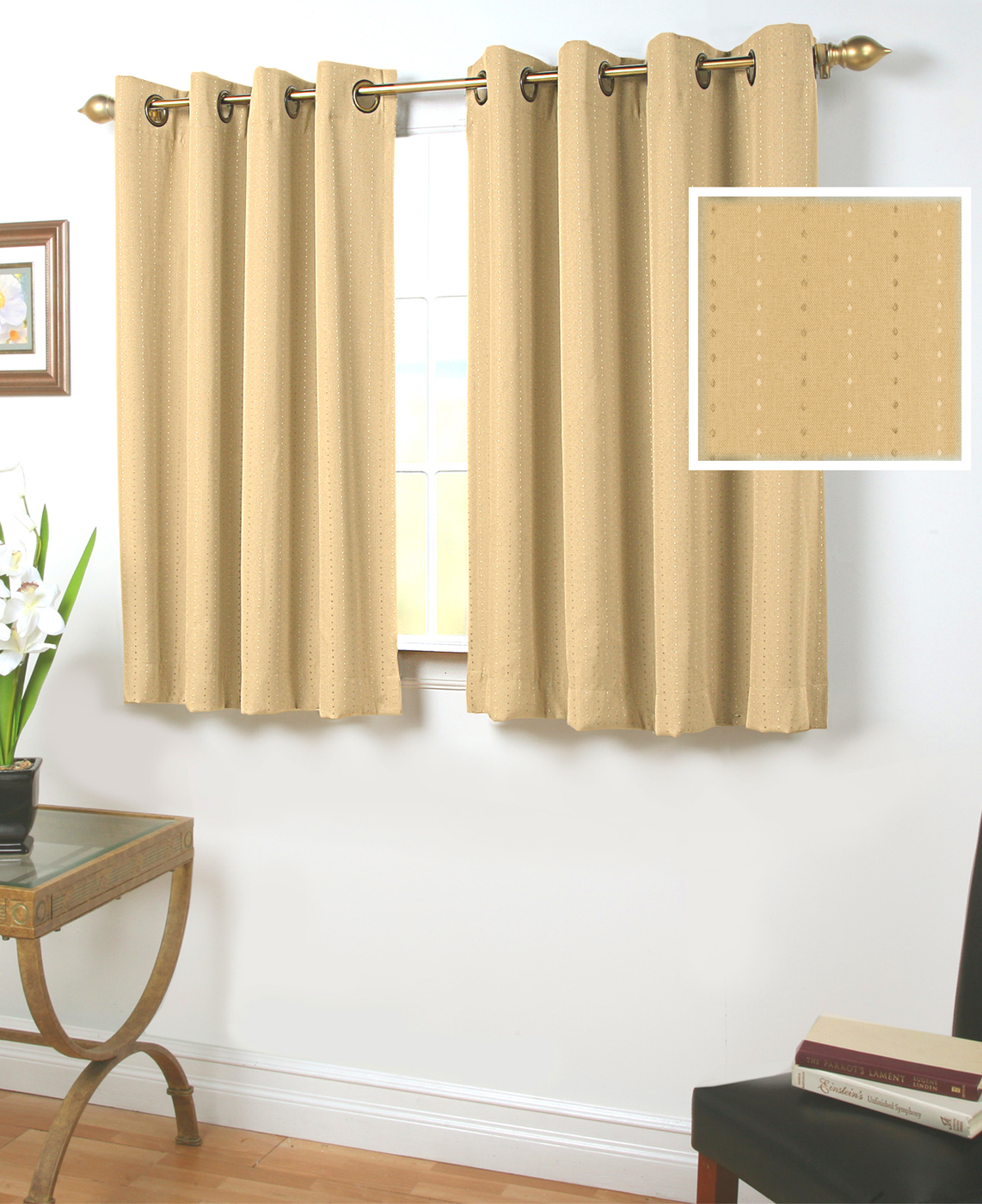 45 Inch Long Curtains Thecurtainshopcom
