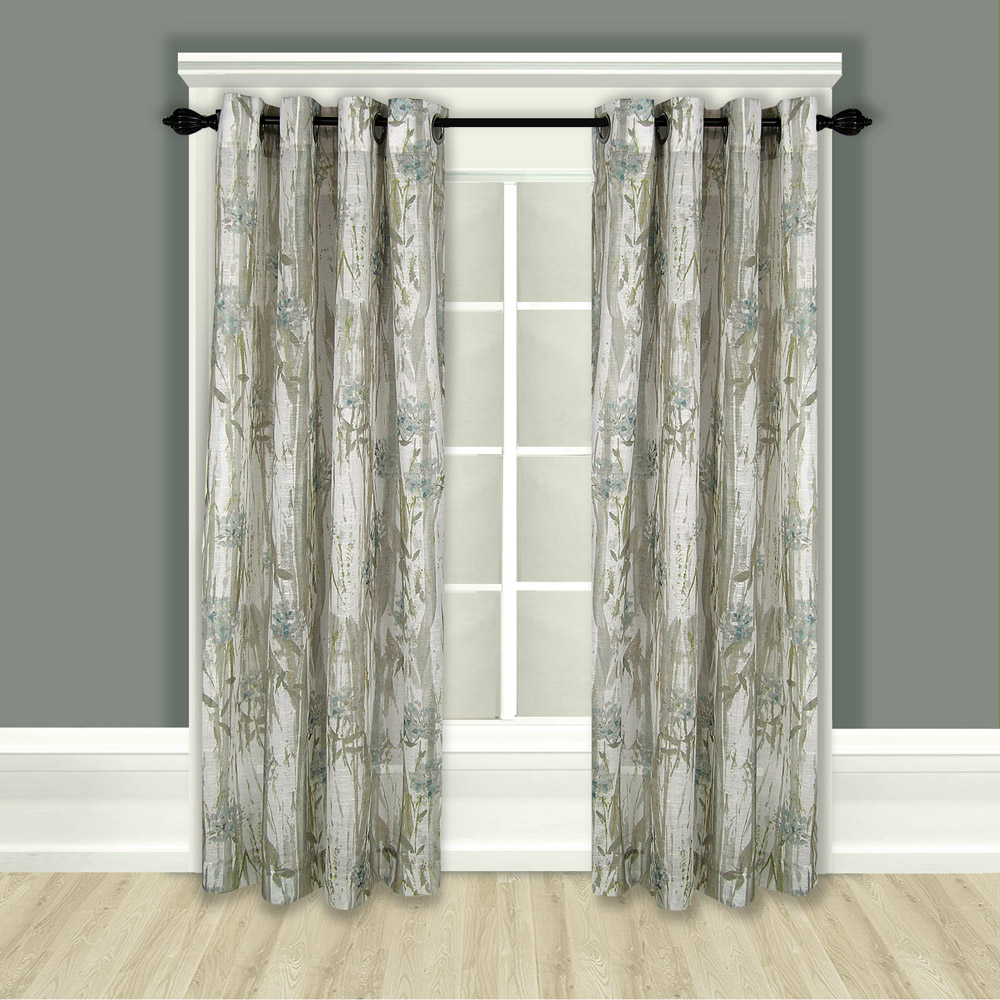 Grommet top curtain panels for Grommet curtains