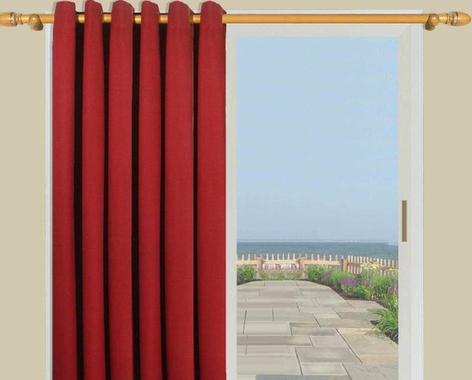Ultimate Black Out  Grommet Top Curtain Panel