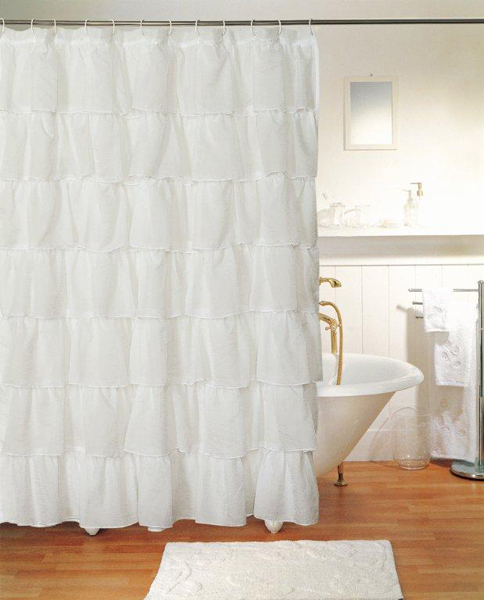 Gypsy Layered Shower And Window Curtain