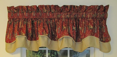 Hamilton Grove Double Abbey Valance