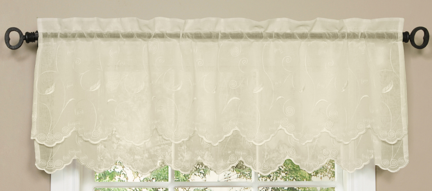 s boscov beaded collection pocket valances bundle shop sheer ii rod waterfall voile htm roma valance