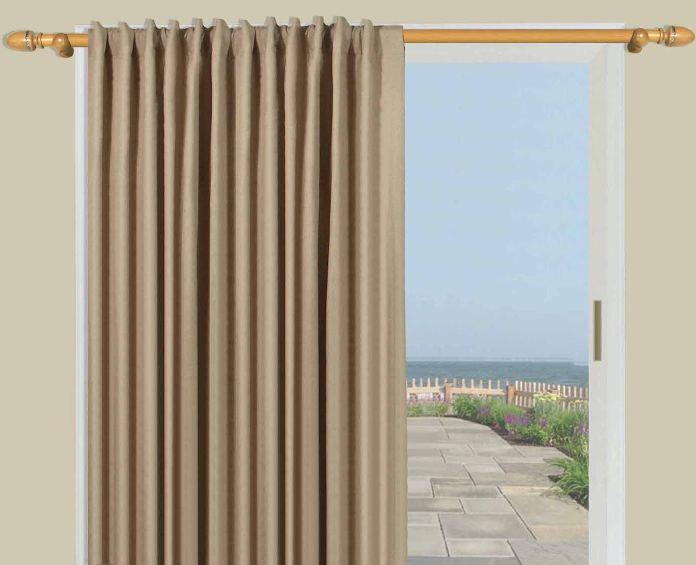 warm to door patio wide ivory drapes insulated blackout or new dividers home curtains sliding products wall designs room