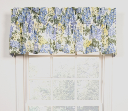 Hydrangea Tailored Valance