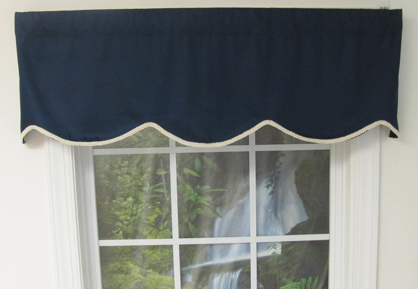 amazing Solid Red Valances Part - 7: Imperial Unlined Cornice Valance