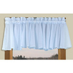 Insert Valance 42 X 15 (full bodied) - Sea Glass Semi Sheer