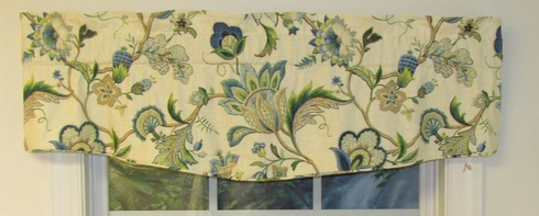 Floral Vine  Insert Valance - Closing Out