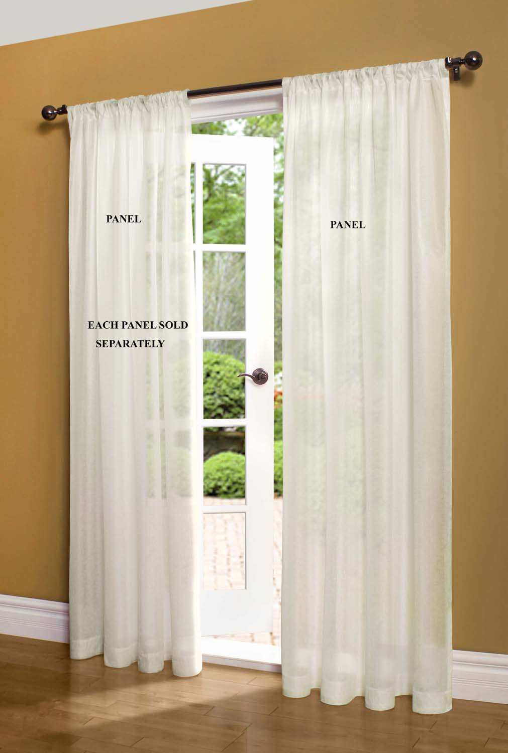 Sheer Curtain And Door Panels U2013 Sheer Curtain Panels At TheCurtainShop.com
