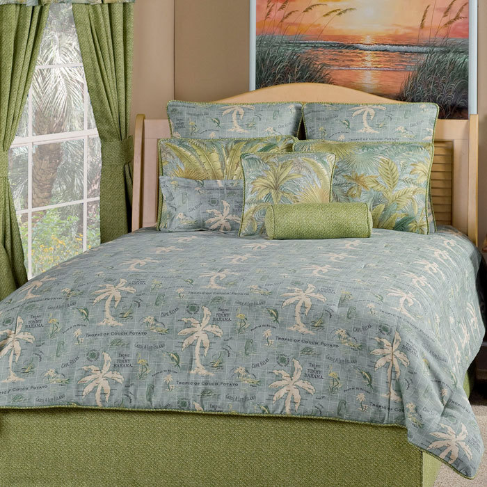 Island Song Comforter Set 2 Colors Victor Mill