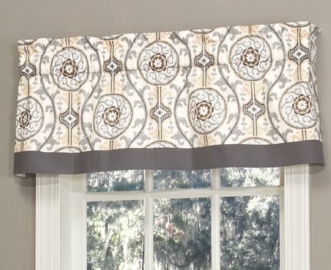 Tailored Valance with Band - Izmir by Thomasville