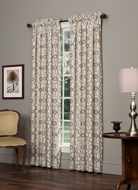 "84""L Rod Pocket Curtain Pair - Izmir by Thomasville"