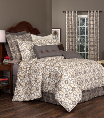 Comforter, Bed Skirt (Separates) - Izmir by Thomasville