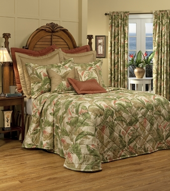 Quilted Bedspread - La Selva Natural by Thomasville