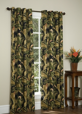 La Selva 84 Quot L Grommet Tropical Curtain Thomasville
