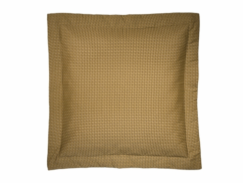Basket Weave Euro Sham - LaSelva Black by Thomasville