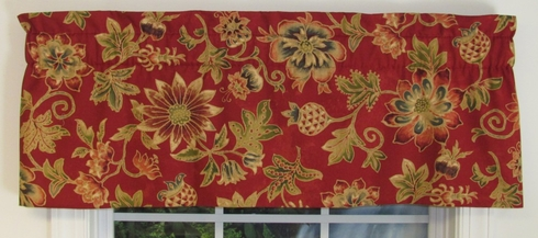 Lined Insert Valance - Fontana - SOLD OUT