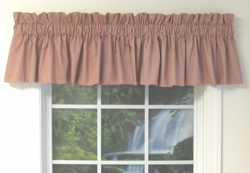 Galaxy Lined Swag Insert Valance - CLOSE OUT