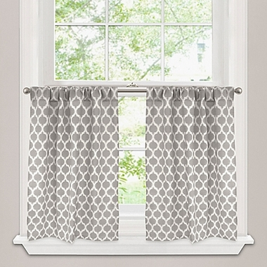 Lined Tier Curtains - Custom Select