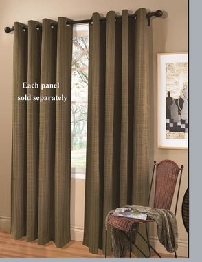 Livingston  Grommet Top Curtain Panel - SOLD OUT