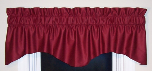 Galaxy M  Shaped Valance - CLEARANCE