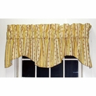 M Valance - Suzanne Stripe  - Brick - SOLD OUT