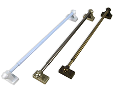 Magnetic Rods 15 to 28 Inch - Dual Mount