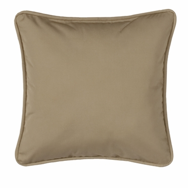 Square Pillow - New Splender Wheat Solid - Martinique by Thomasville