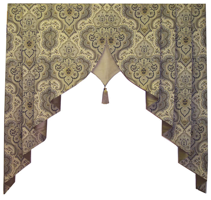Olde towne board mounted window toppers the curtain shop - Boutique free valence ...