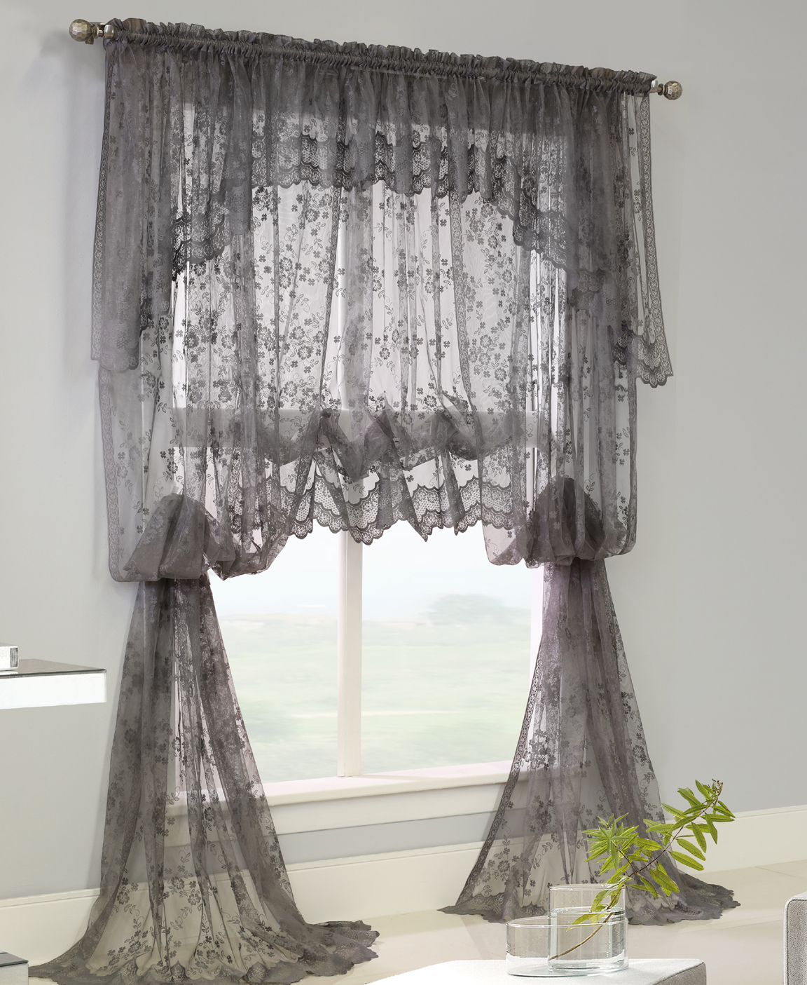 classic curtains in valance lace panels home for best decor windows treatments window sheer curtain valances