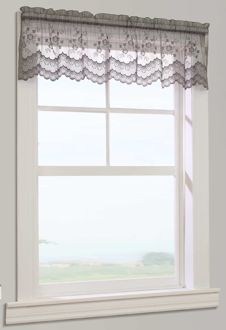 rod ivory helena valances marburn valance beaded sheer panel pocket semi products